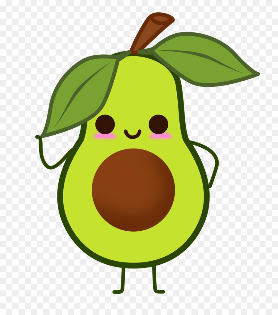 Green leaf background tshirt. Avocado clipart cute