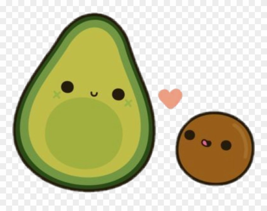 Avocado Clipart Cute Avocado Cute Transparent Free For Download On Webstockreview 2020