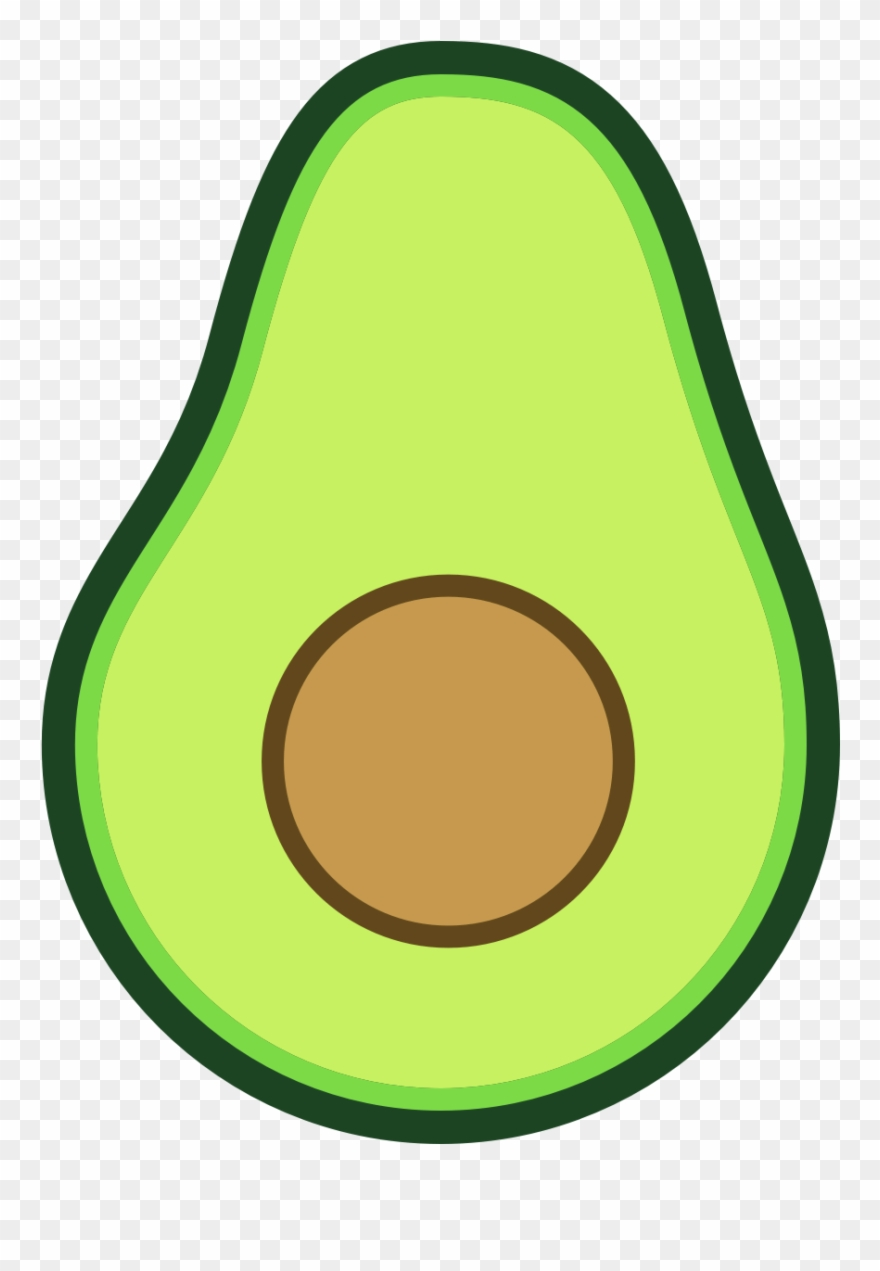Svg library download animated. Avocado clipart draw
