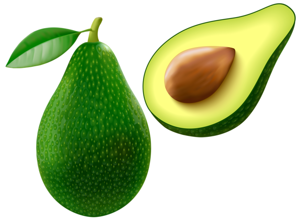 Png vector image food. Avocado clipart face