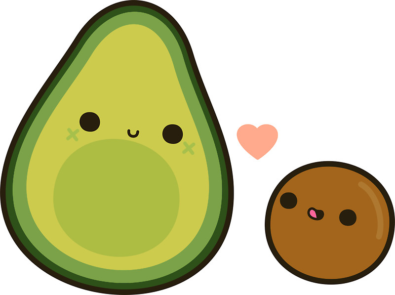 Free download best on. Avocado clipart face