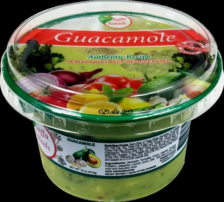 Avocado clipart guacamole. Products jaffa salads authentic
