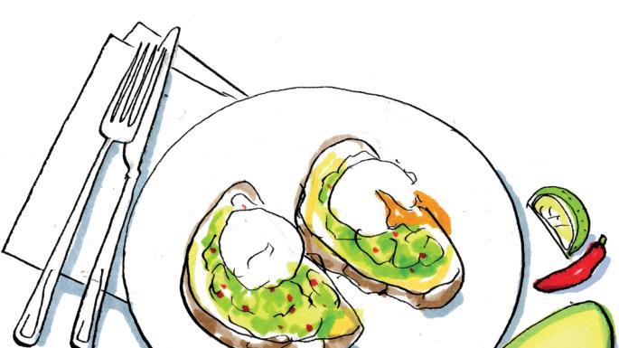 Avocado clipart illustration. Recipe lindsey bareham s