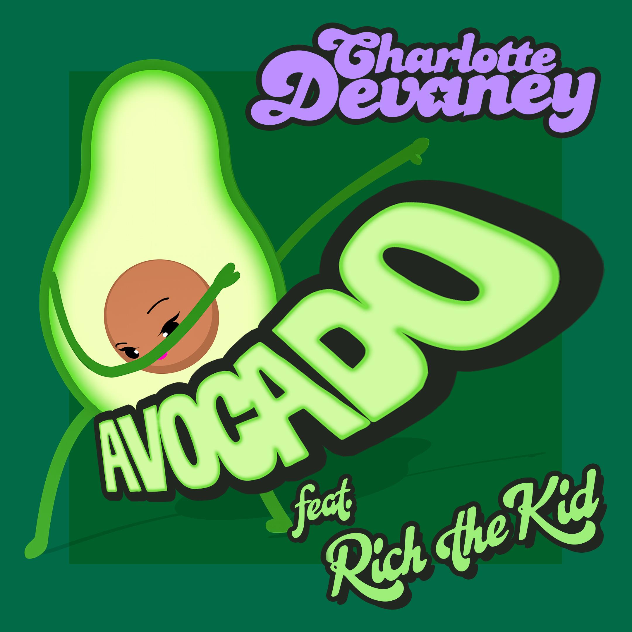 avocado clipart kid