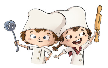 April kids cook and. Avocado clipart kid