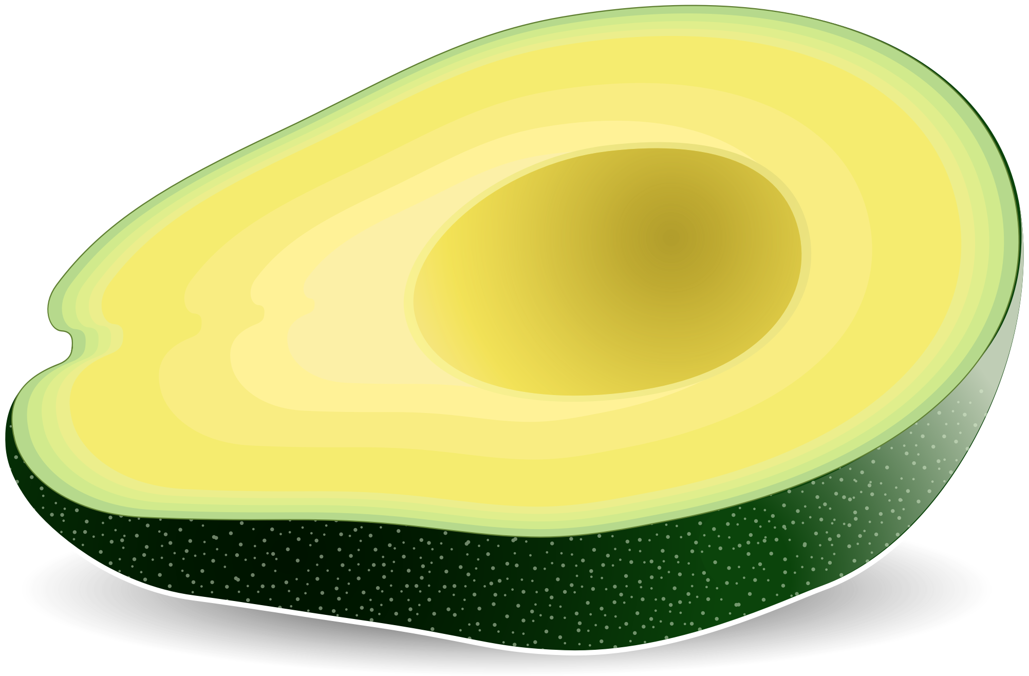 Png images free download. Avocado clipart transparent background