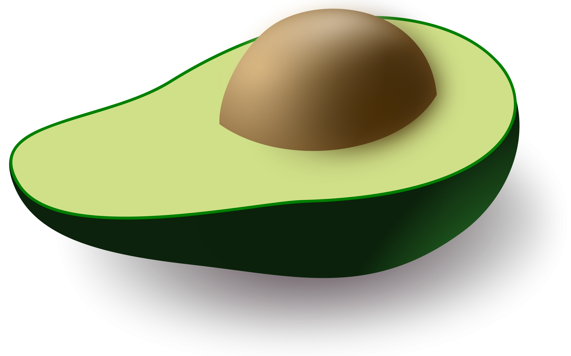 Avocado clipart transparent background. Png images free download