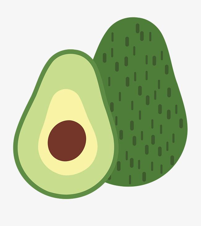 Png diagram fruits and. Avocado clipart vector