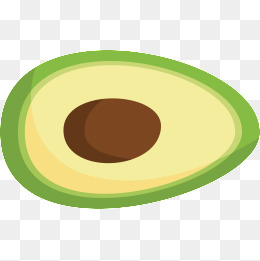 Avocado clipart vector. Png vectors psd and