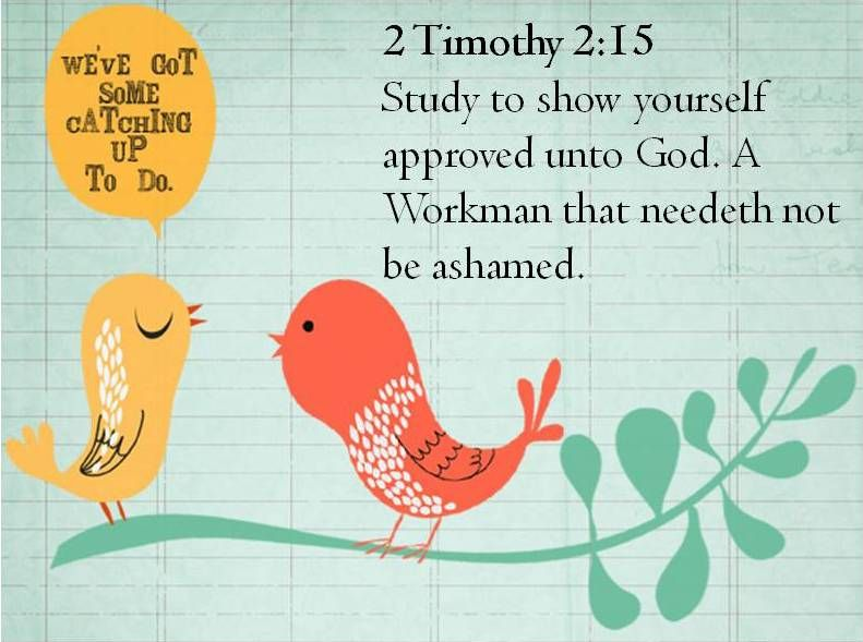 Approved workmen are not. Awana clipart 2 timothy