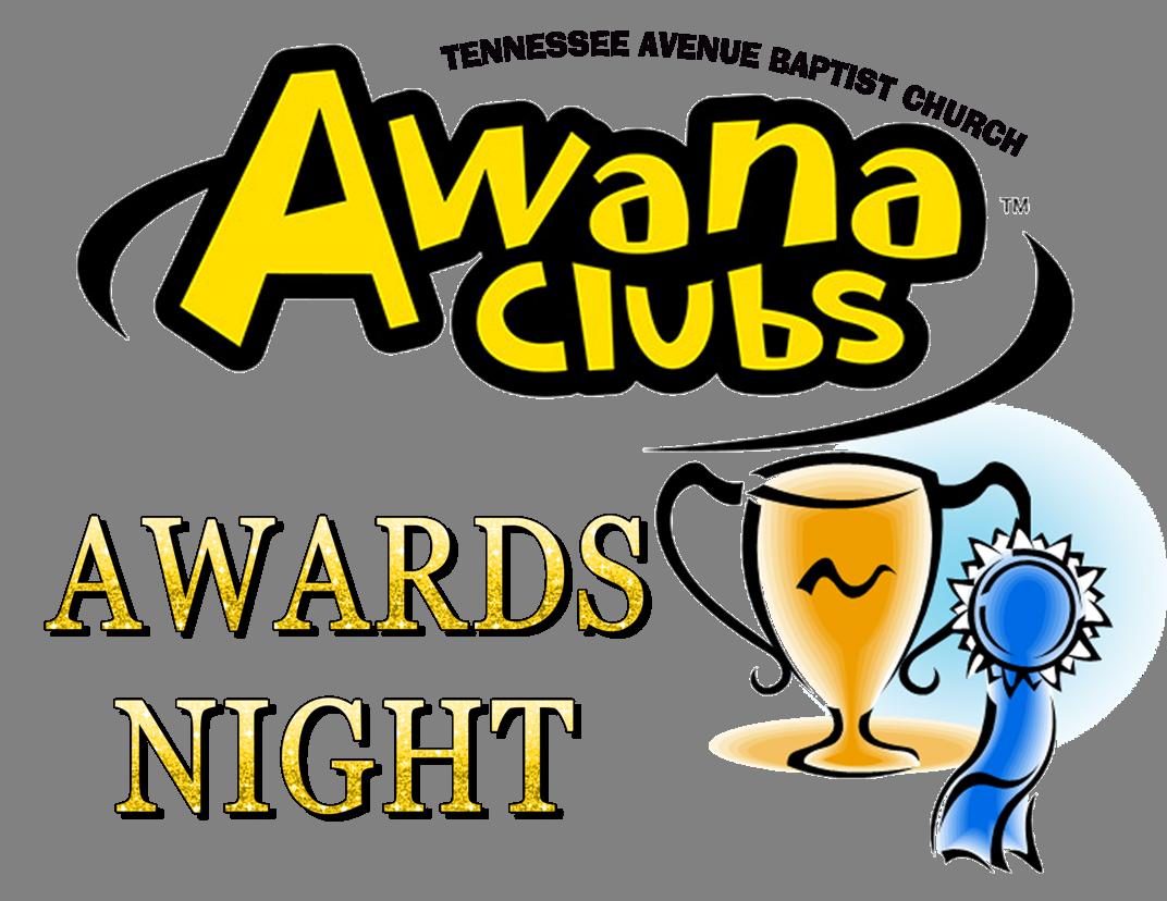 . Awana clipart awards night