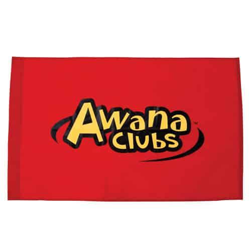 Outdoor sign . Awana clipart flag