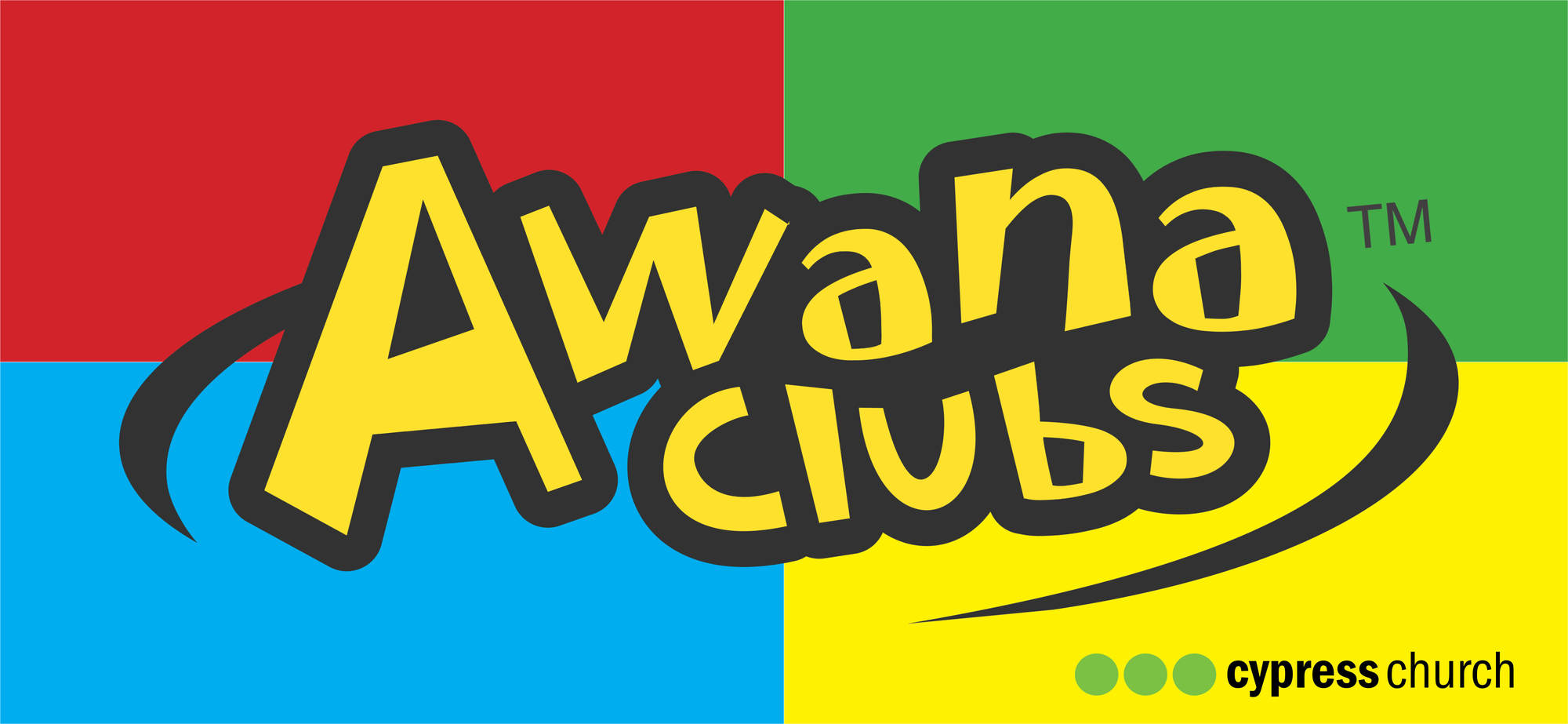 Cypress community church menu. Awana clipart flag