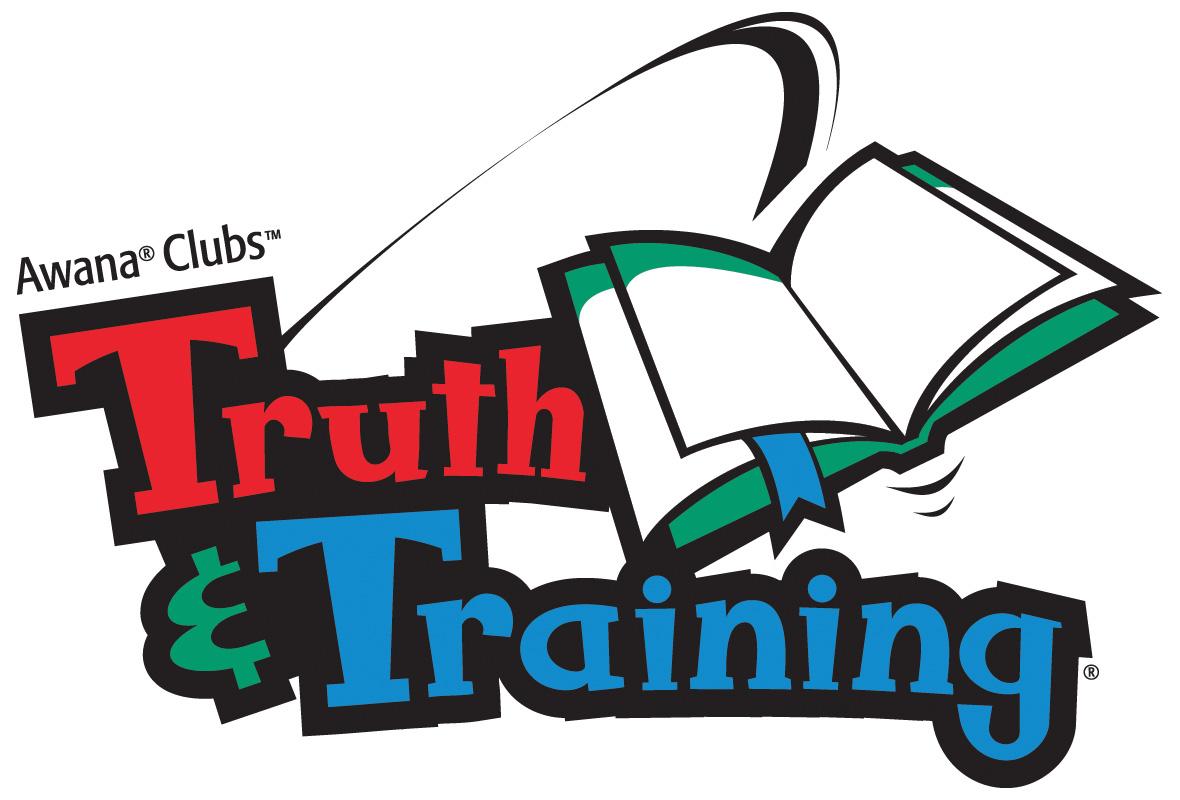 Truth and training . Awana clipart logo
