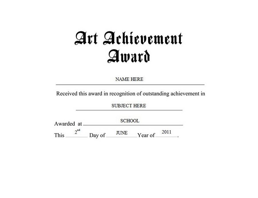 Art free templates clip. Award clipart achievement award