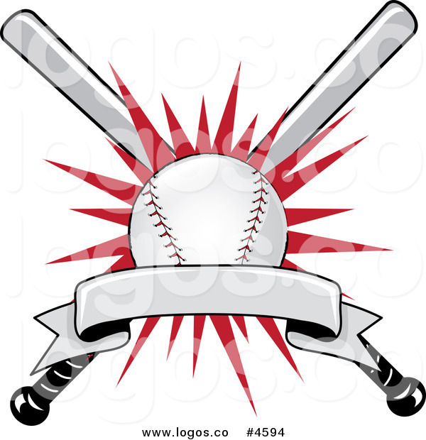 Royalty free banner stock. Award clipart baseball