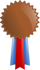 Award clipart bronze. Medal