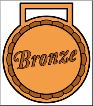 Awards clipart bronze. Clip art award color