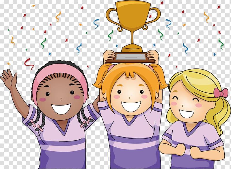 Award clipart cartoon. Children transparent background png