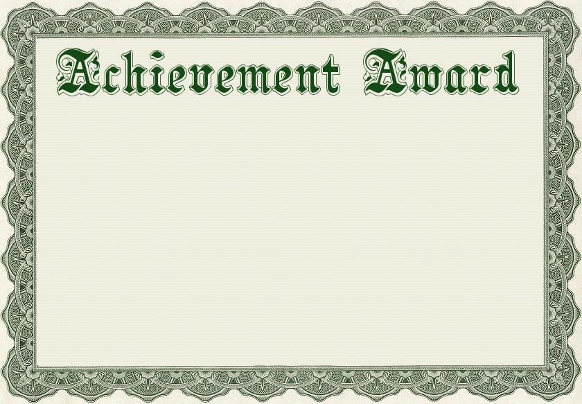 Free public domain clip. Award clipart certificate