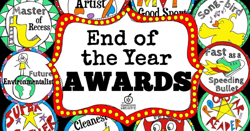Awards clipart preschool. Printable end of the