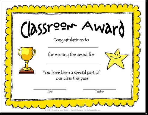 Awards make kids feel. Award clipart classroom