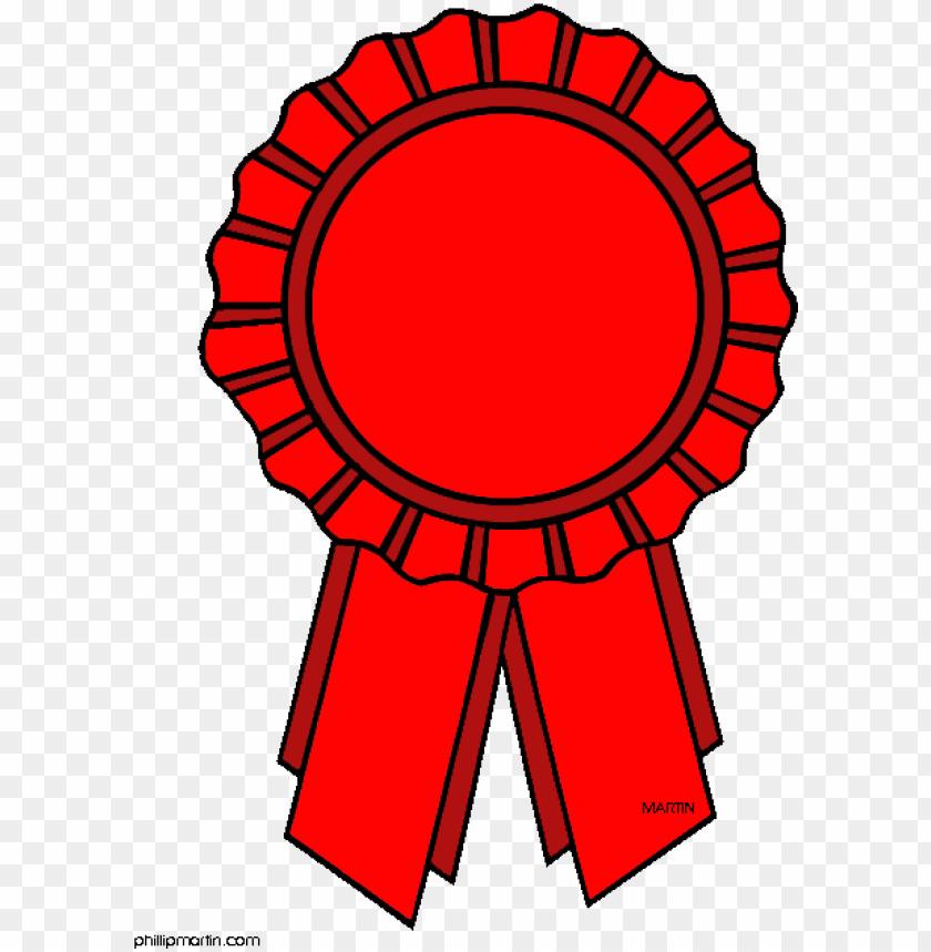 Red ribbon clip art. Award clipart cute