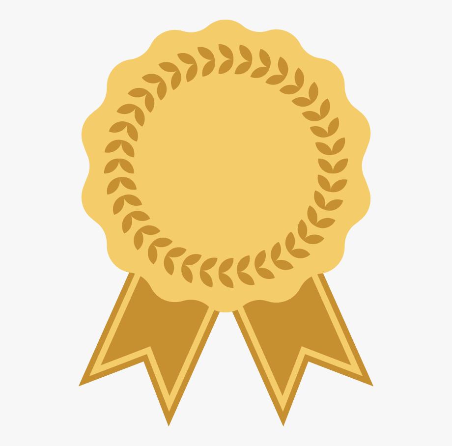 Transparent ribbon logo png. Award clipart emblem