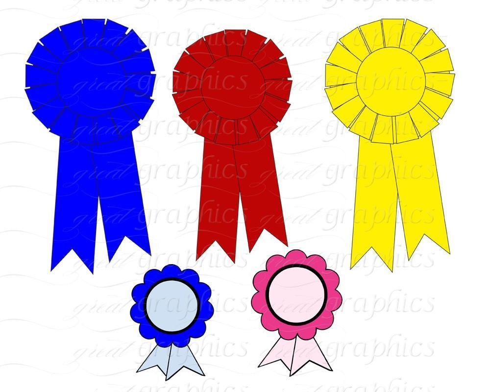 Banner clip art digital. Award clipart first place