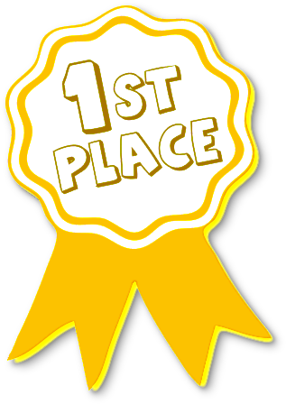 awards clipart first place