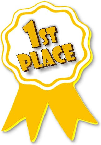 award clipart first place