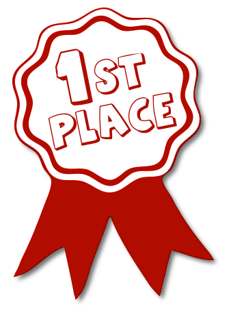 Awards clipart first place.  st award ribbon