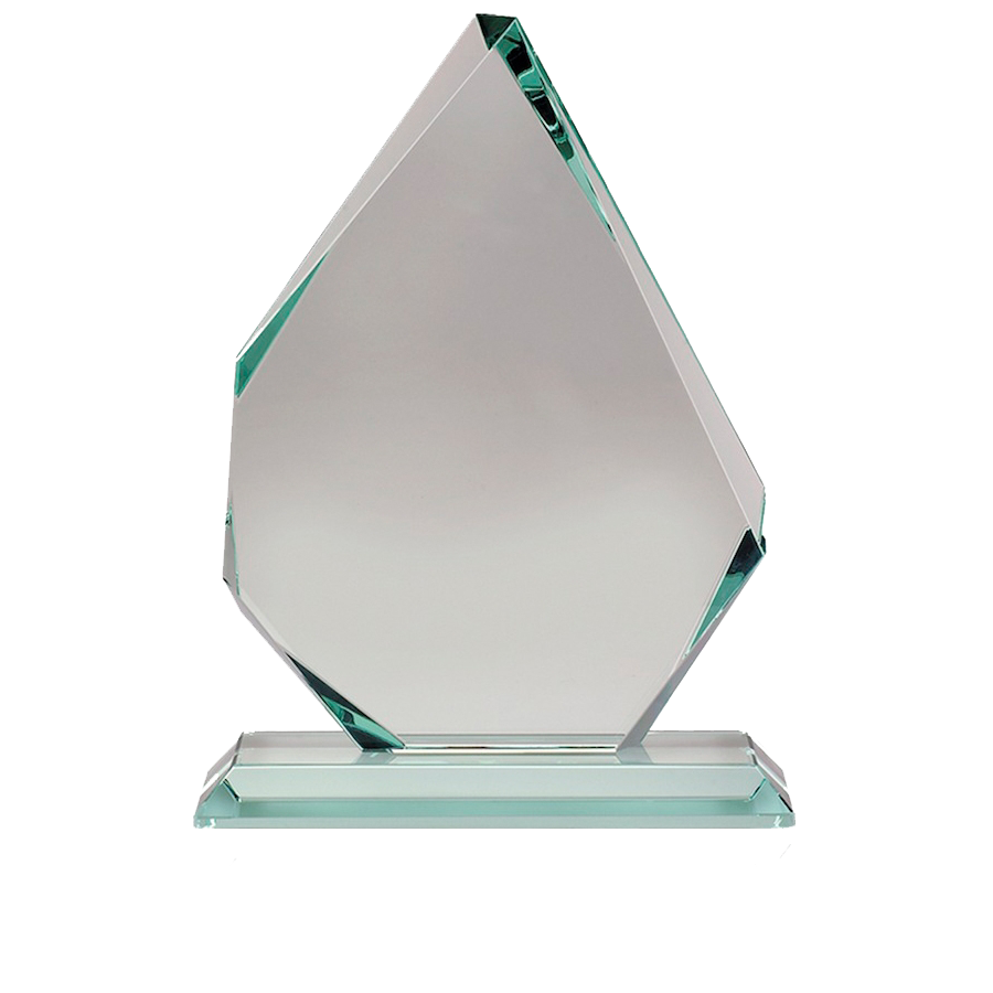 Plaque clipart trophie. Glass award transparent png