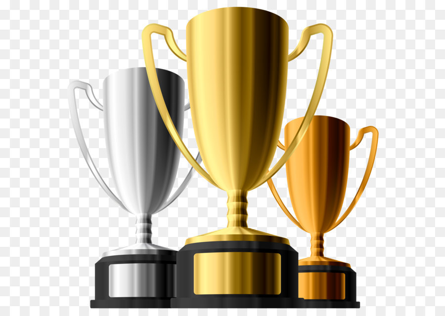 Awards clipart bronze. Trophy champion cup medal