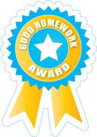 Award clipart homework. Free motivational clip art