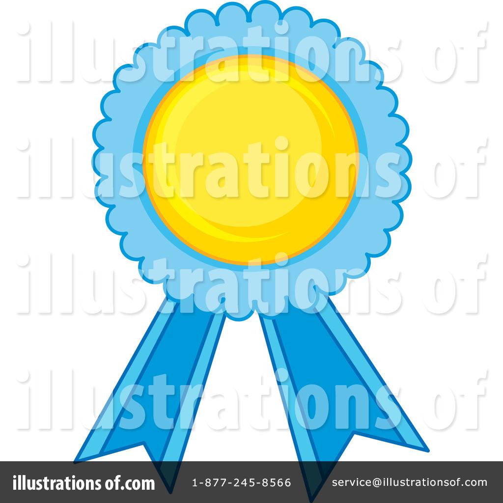 Award clipart illustration. Ribbon by graphics rf