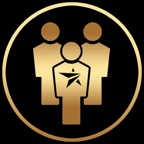 Banking technology awards leadership. Leader clipart senior management