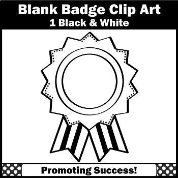 Blank ribbon clip black. Award clipart line art