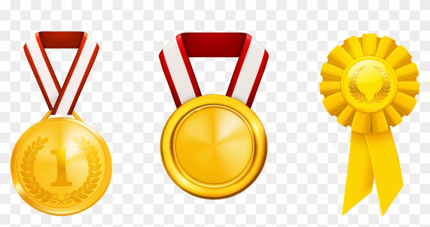 Gold hd png download. Award clipart medal