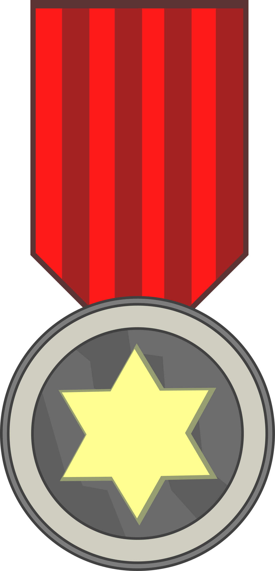 Award clipart medal. Star big image png