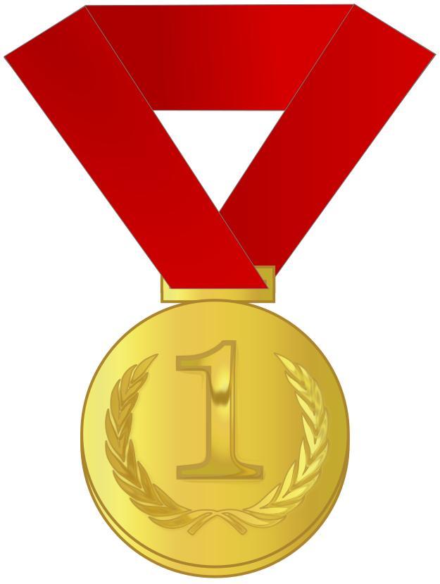 Award clipart medal. Gold design droide