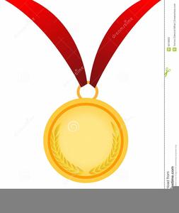 Gold medal free images. Award clipart medallion