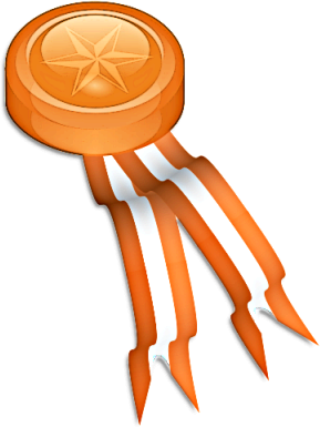 Awards clipart medal. Free public domain clip