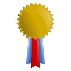 Award clipart medallion. Publicdomainvectors org vector image