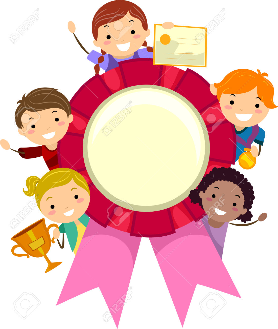 Recognition free download best. Awards clipart preschool