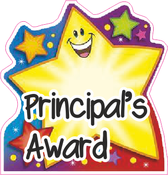 Awards clipart principal's. I love stickers we