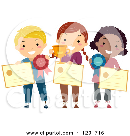 School day station . Award clipart recognition