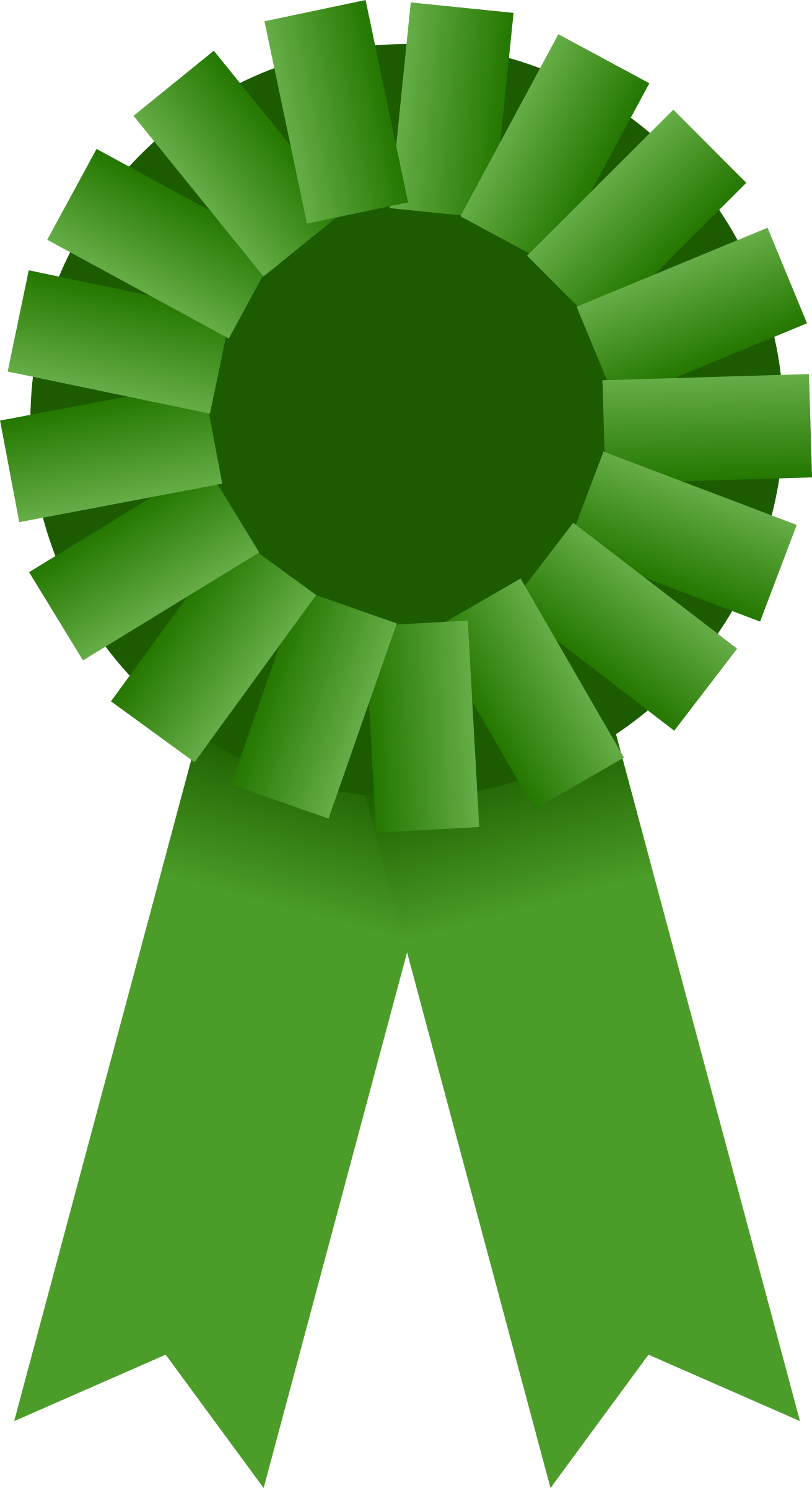 number 1 clipart ribbon