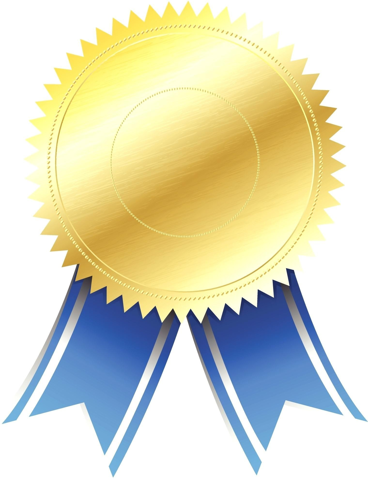 Award clipart ribbon. Certificate template black and
