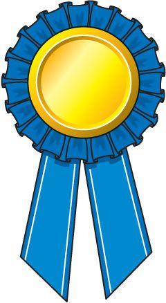 Plain school . Award clipart ribbon clip art
